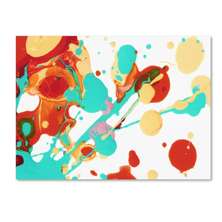Amy Vangsgard 'Paint Party 3' Canvas Art