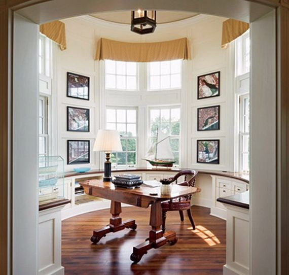 The 18 Best Home Office Design Ideas With Photos: 11 Best Turret Room Images On Pinterest
