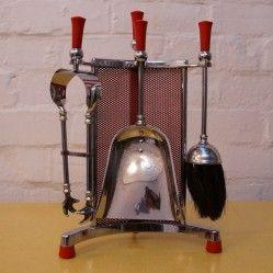 Vintage fireside companion set, vintageactually.co.uk