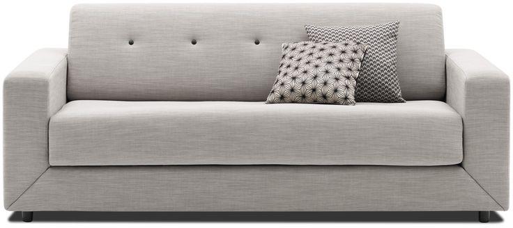 Sofas cama modernos - Calidad de BoConcept, 2000€, A82xL202xF96/214cm. Colchón: L144xL194cm.