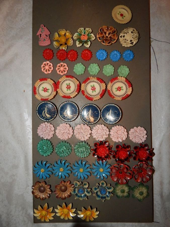 21 best Vintage curtain push pins images on Pinterest | Curtain ...