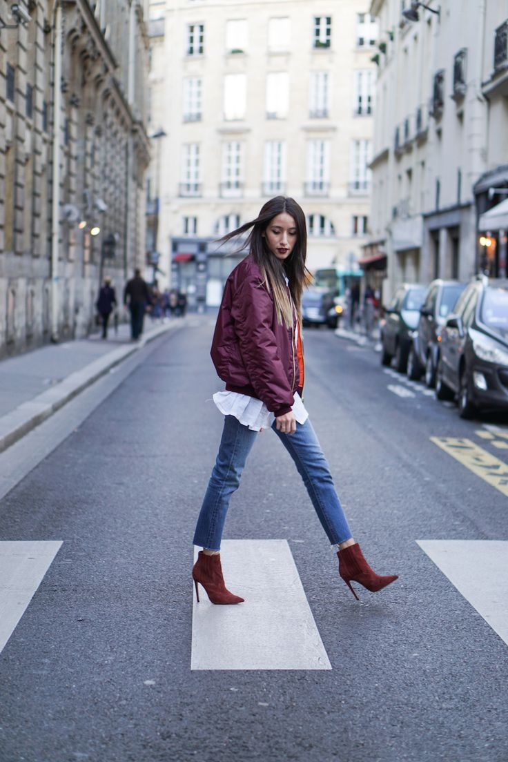 Alex's Closet - Blog mode et voyage - Paris   Montréal: LE BOMBER BORDEAUX