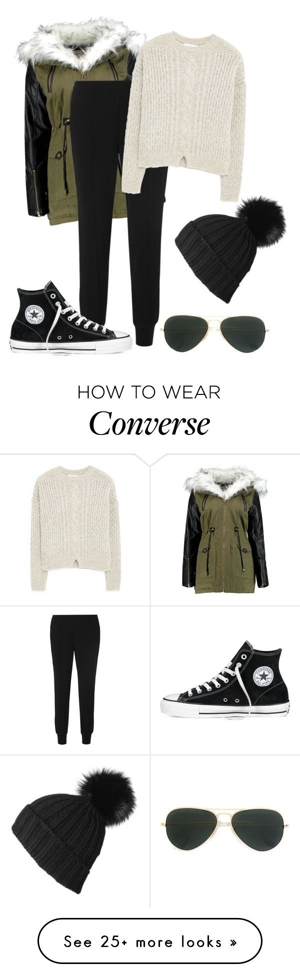 """""""How i want to dress tomorrow."""" by crazygirlandproud on Polyvore featuring moda, Ray-Ban, Vince, Converse, MANGO y best"""