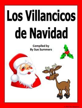 spanish christmas carols villancicos de navidad song book - How To Say Christmas In Spanish