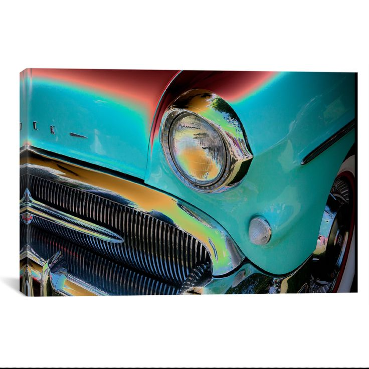 Head Light III by Symposium (Buick) What a way to decorate! your favorite pieces of history on a nice canvas. A perfect way to match up your mancave, bedroom, garage, gameroom etc. Great Art Deserves