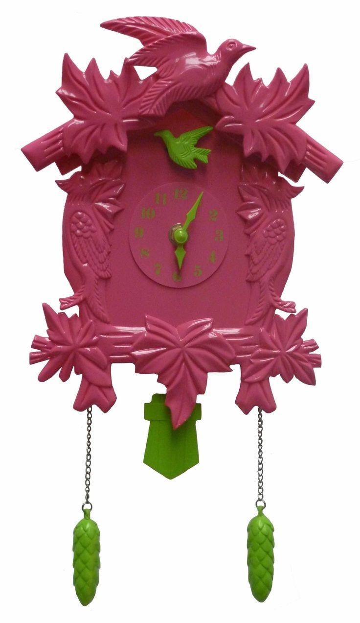 #cuco #rosa #reloj #tiempo #ohmicasa #decoración #hogar