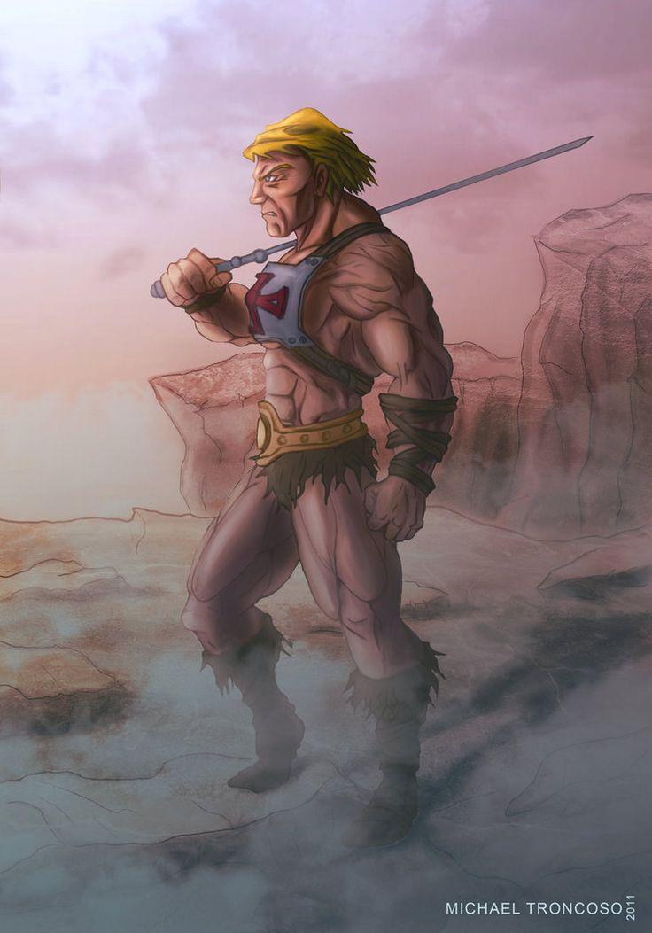 He-man by Barvo on DeviantArt