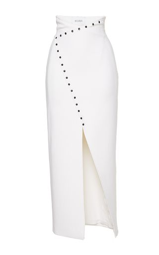 Mulheir Wrap Embellished Skirt