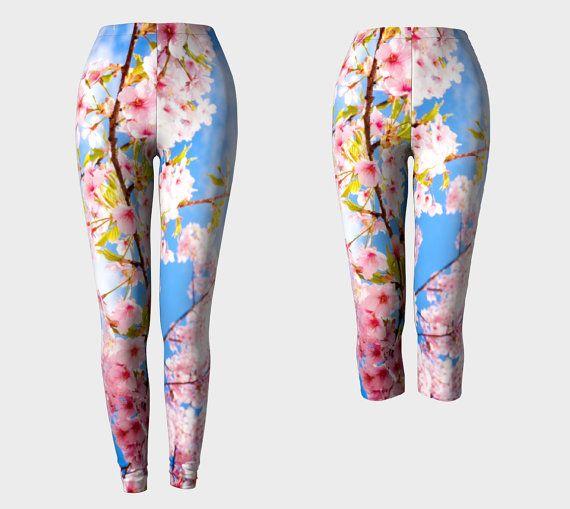 Hanami  Leggings  Yoga Pants  Capris  Death's di DeathsAmoreCloth