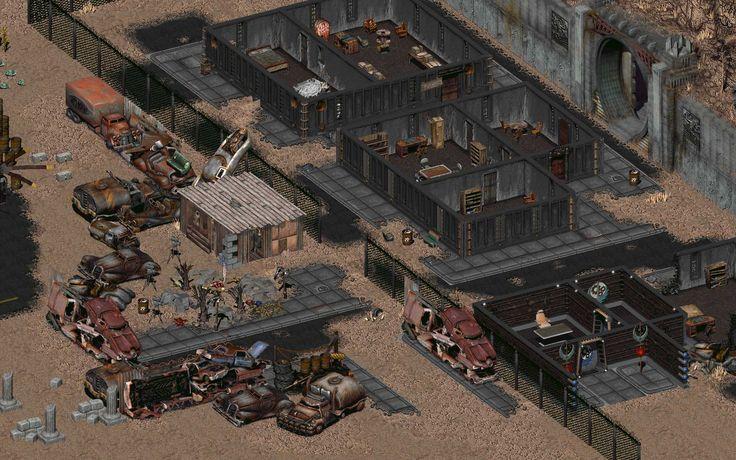 Fallout - A l'époque c'était de la 2D isométrique. Le scénario est intéressant et la musique colle bien à l'ambiance. Il est possible de résoudre les quêtes de plusieurs manières différentes (très typé jeu de rôle papier).