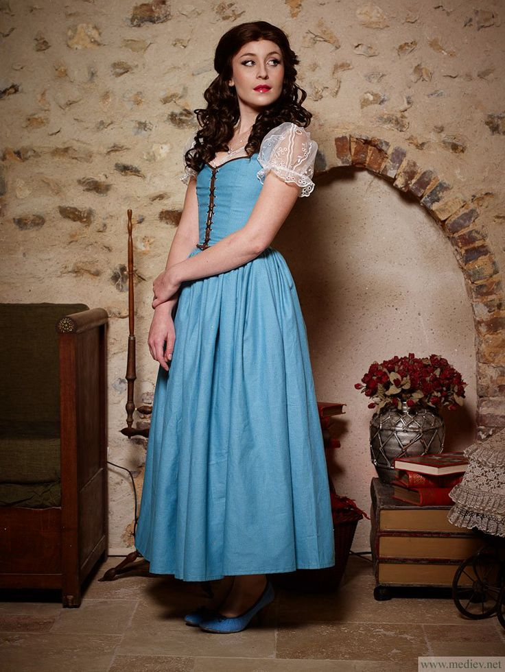 28 best Costuming | Belle OUAT Blue Dress images on ...