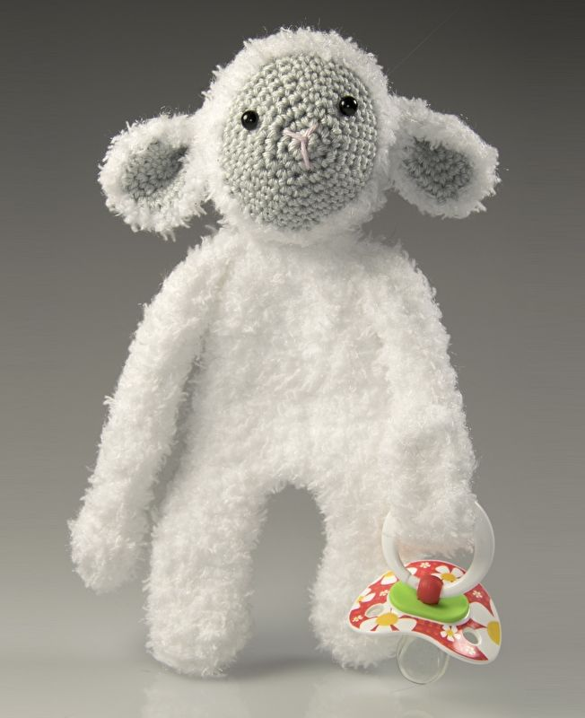 Amigurumi Baby Haakpatroon : Speenknuffel schaap Sam baby Pinterest Babies ...