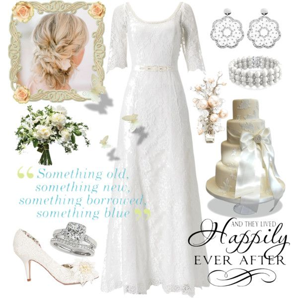 ..Happily Ever After by amy-b1988 on Polyvore featuring polyvore fashion style Monsoon Allurez Bling Jewelry Wedding Belles New York