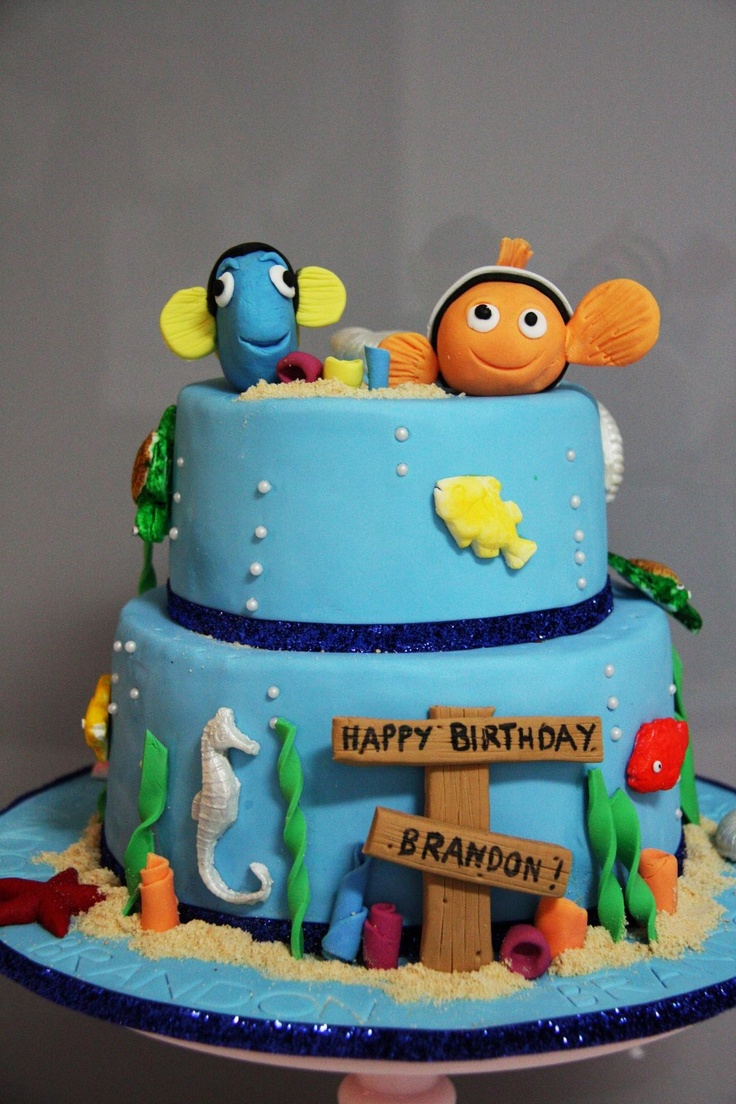 179 best Cakes Finding Nemo images on Pinterest Finding nemo