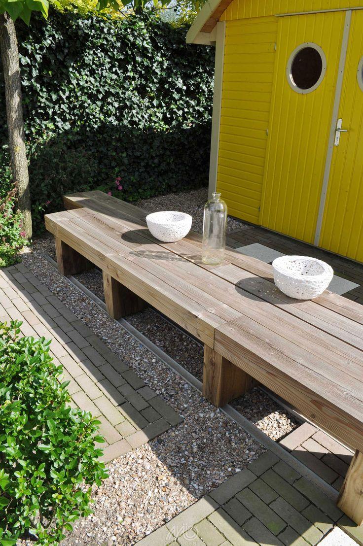 17 beste afbeeldingen over verharding in de tuin op pinterest tuinen betonnen stapstenen en - Terras rand idee ...