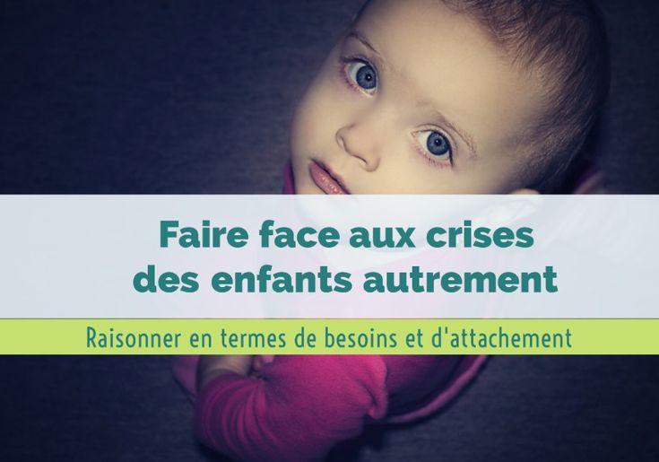 Faire face aux crises des enfants autrement