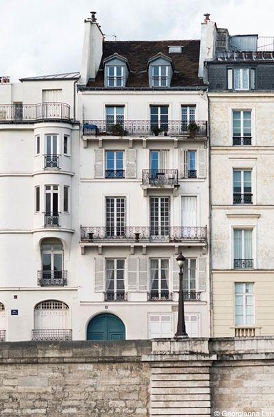 Paris Photography - Ile Saint-Louis, Paris Architecture