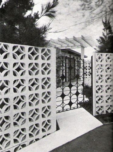Mid-Century Breeze Blocks