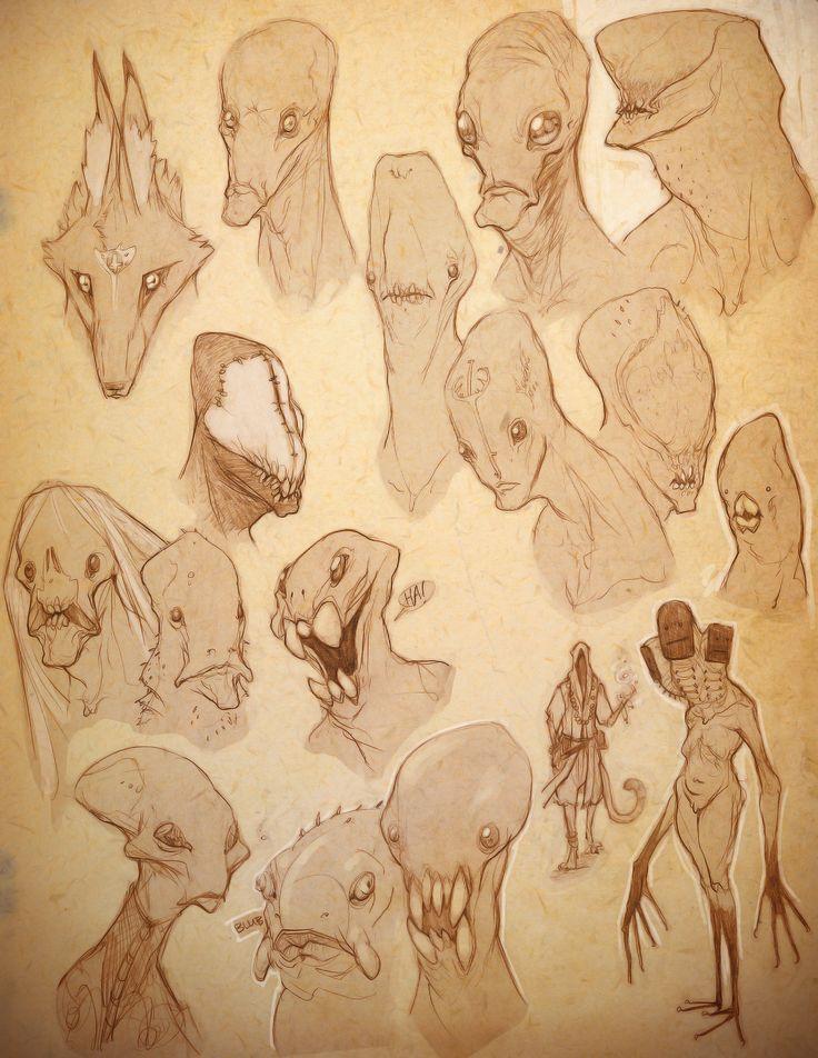 ArtStation - Moleskine Pages, Kurt Papstein