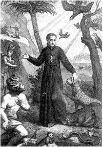 José de Anchieta - O padre José de Anchieta foi sem dúvida o pai da biodiversidade, o primeiro naturalista da história do Brasil, reconhecido como patrono dos naturalistas brasileiros. Em pleno século XVI, ele defendeu homens que não eram brancos, nem europeus, nem cristãos