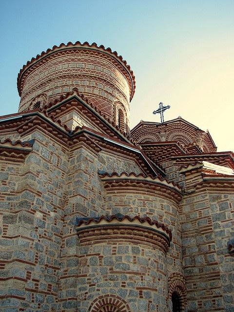 Keep the faith    Church Plaosnik, Ohrid, Macedonia