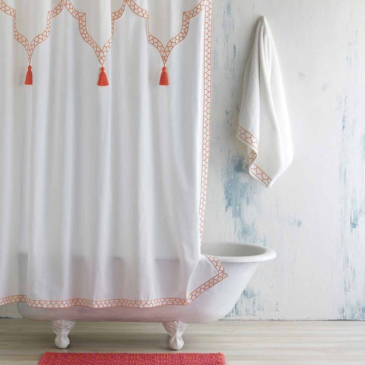 Best 25 Coral Curtains Ideas On Pinterest