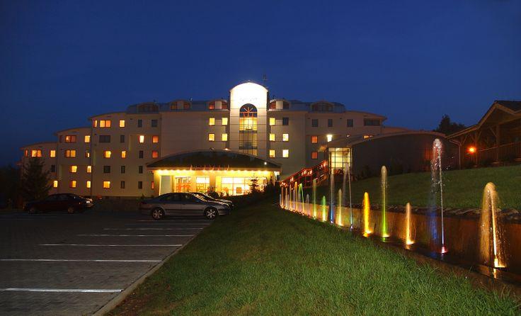 Hotel Kaskady and its surroundings  #luxury #holiday #hotel #kaskady #surroundings #nature #night