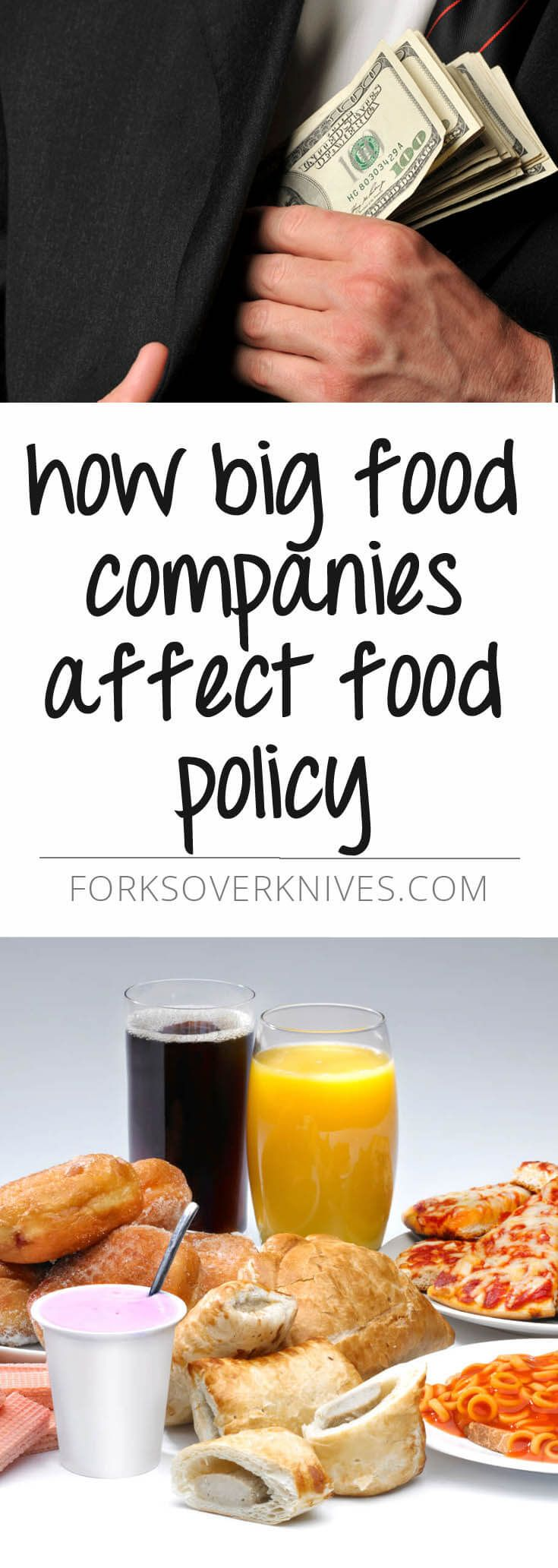 How the food and beverage industries influence the health arena.