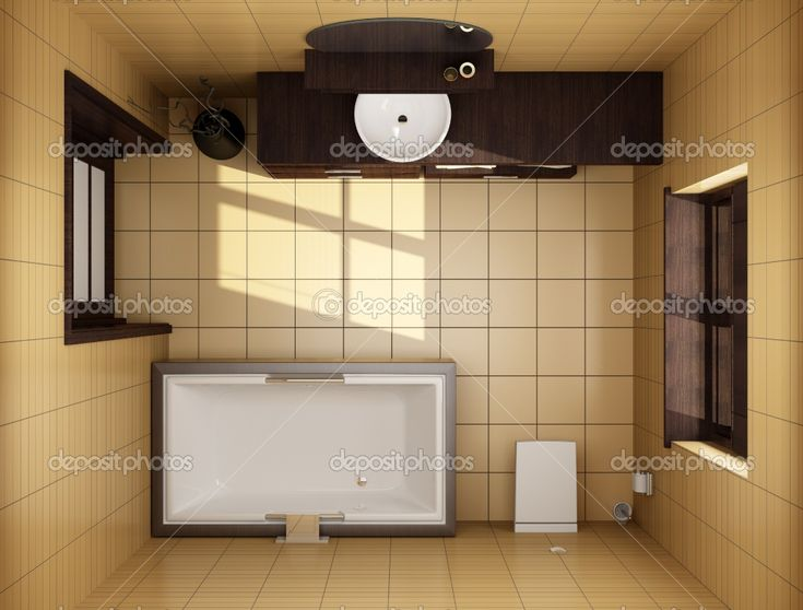 Photo Album Website stock photo japanese style bathroom with brown tiles