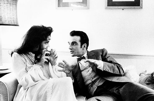 Elizabeth Taylor & Montgomery Clift on the set of Raintree County, 1957.