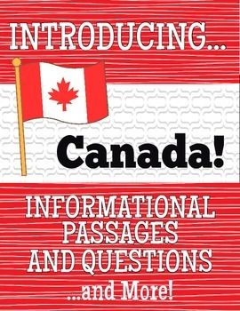 Introducing Canada.I created this fun, and informative resource on Canada for American teachers beginning a unit on their neighbour to the north. It in no way covers all the aspects of Canada you might be teaching your students but is an interesting and lighthearted introduction to the topic.
