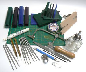 Green Wax Slices tools