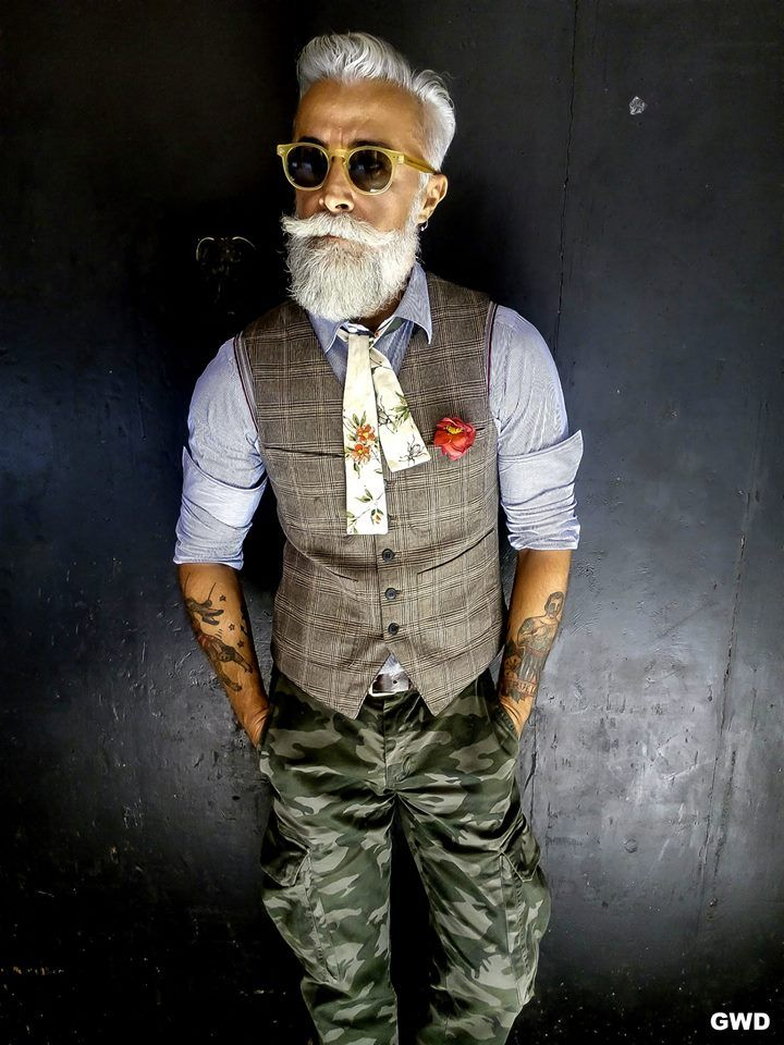 """You don't stop laughing when you grow old, you grow old when you stop laughing."" ― George Bernard Shaw.... this guy's got style and he s still gorgeous in his advancing years"