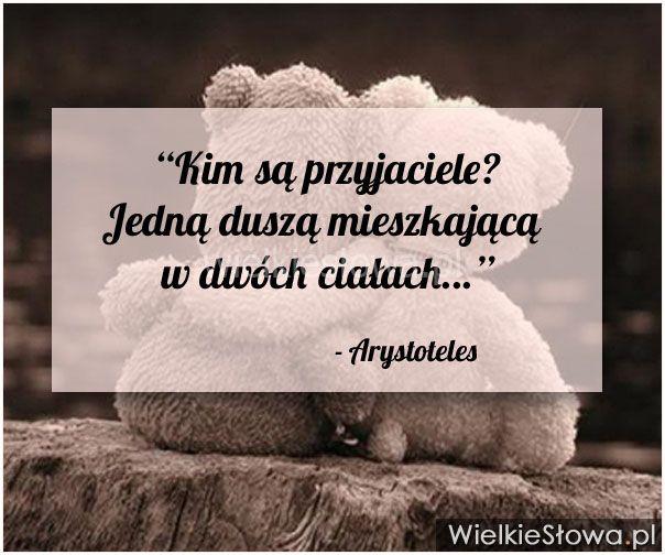 Kim są przyjaciele? Jedną duszą... #Arystoteles, #Przyjaźń