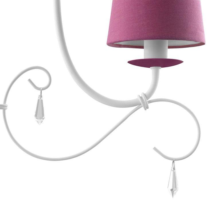 Hanglamp Princess - Kroonluchter - Roze - Philips