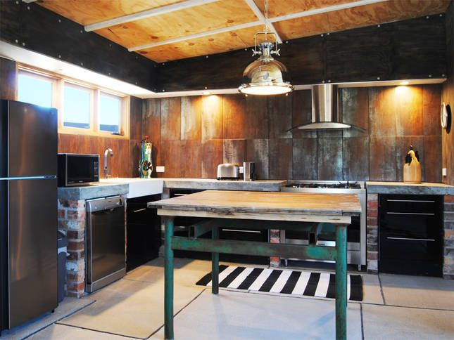 Butler's kitchen | Malibu on the Beach - oceanfront retreat in Four Mile Creek, Tasmania