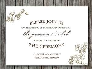 Invitation Wording Modern Wedding Invitations Fun. reception card ...