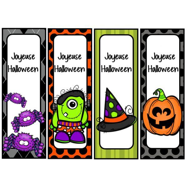 signets d'Halloween …
