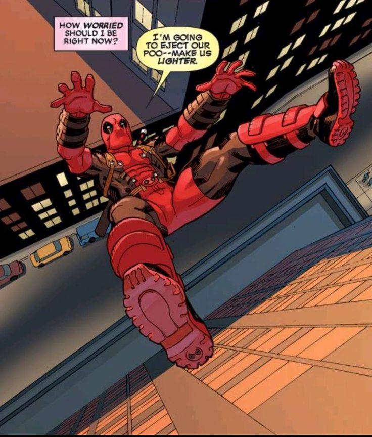 Funny Deadpool Comics