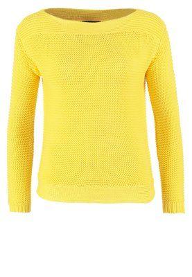 VADRIAN - Stickad tröja - gelb