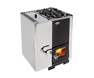 Helo 20 PK VV -puukiuas Helolta http://www.helo.fi/tuotteet/sauna/woodfire-heaters/helo-20-pk-vv/