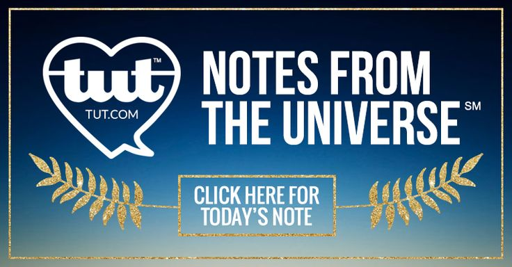 There's at least one in every crowd... Someone who's there, first and foremost, to love you.  Besides me,      The Universe   Good thing we network, huh?  Read this entire Note from the Universe at http://www.tut.com/note/details/255/