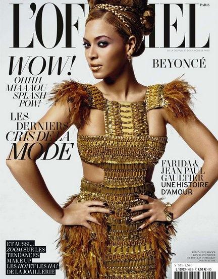 Beyonce's Look.