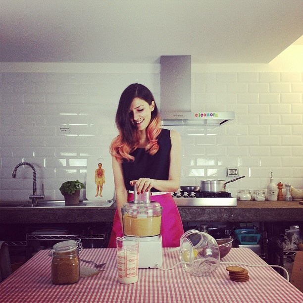 @Eleonora Carisi in the kitchen