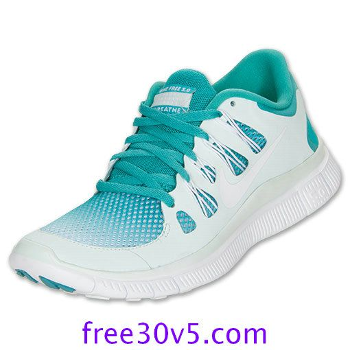 50% Off Nike Frees,Nike Free 5.0 Womens Sport Turq Fiberglass White 580601 313