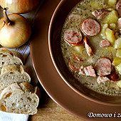 Ekstra mięsna zupa na żeberkach wieprzowych