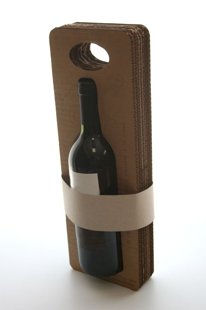 """Wine to go"" by Fidel López, student at CEU Cardenal Herrera University in Spain"