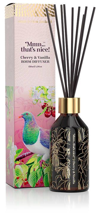Mmm...that's nice Cherry & Vanilla Room Diffuser - Mmm...that's nice! - Skincare - Gifts - Simply New Zealand