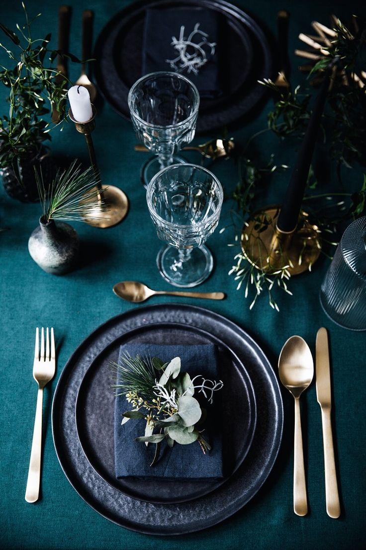 La table de Noël végétale