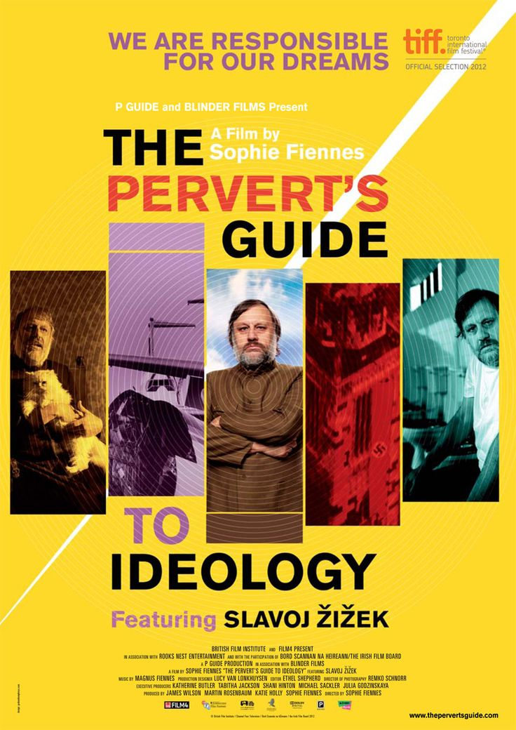 The Perverts Guide to Ideology, Sophie Fiennes (2012) presented by Slavoj Zizek